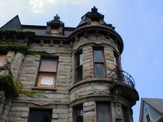 Cleveland's Franklin Castle has the distinction of being known as Ohio's most haunted house. It is a big, dark building with stone walls, a turret, and a six-foot wrought iron fence. Hans Tiedemann, a german immigrant who got rich from his barrel-making business and later the banking industry, built the house in the mid-1800's. The count varies, but it was supposed to have 21 rooms. It also featured a fourth floor ballroom accessible by its own staircase, marble fireplaces, dumbwaiters, wine cel