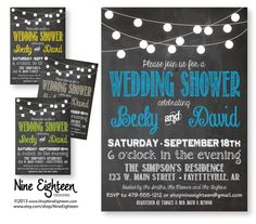 Wedding+Shower+Invitation.+Customized+PDF%2FJPG+invitation.+I+design%2C+you+print.+Choose+your+colors