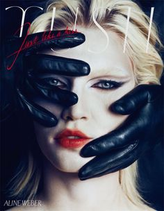 Aline Weber by Txema Yeste for Tush Magazine Fall 2013 1