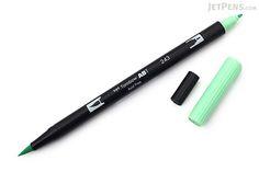 Tombow ABT Dual Brush Pen - 243 - Mint - TOMBOW AB-T243