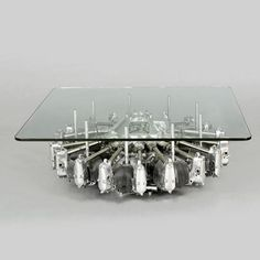 We recently ran across this odd, yet very cool design. What you see is what you get: the base of this coffee table is a genuine plane engine. According to Design Milk, the Cylinder Radial Engine Table was created by using a base that comes from a US Army Engine Coffee Table, Engine Table, Coffee Table Base, Coffee Tables, Man Cave Furniture, Table Furniture, Cool Furniture, Furniture Design, Industrial Furniture