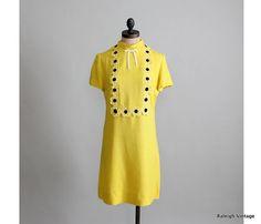 1960s MOD dress.  So cheery!