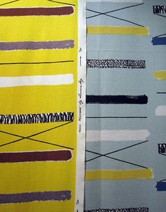 Lucienne Day Mezzanine fabric | Flickr - Photo Sharing!