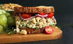 """No-Tuna"" Salad Sandwich - Plant-Based Vegan Recipe"