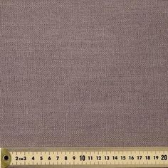 Linen Weave Fabric Taupe 145 cm