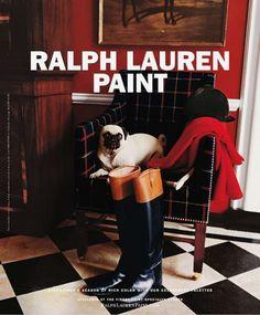 Advertisement of Ralph Lauren Paint Elle Decor December 2011