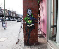 Street art by El Sol 25