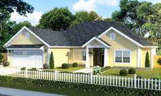 Southern House Plan with Five Bedrooms - 52266WM | Ranch, Southern, 1st Floor Master Suite, Butler Walk-in Pantry, CAD Available, Den-Office-Library-Study, PDF, Split Bedrooms | Architectural Designs