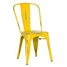 Stolička Antique Terek Vintage Yellow | Bonami