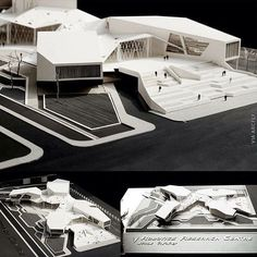 Robotics research center Via : @arcfly_ft #arch_impressive