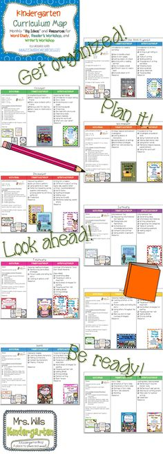 Kindergarten Curriculum Map ELA FREEBIE Organize your lesson year! Kindergarten Curriculum Map, Curriculum Mapping, Curriculum Planning, Kindergarten Lesson Plans, Literacy, Lesson Planning, Teachers Week, Teachers Toolbox, Teacher Organization