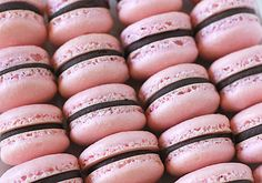 The Galley Gourmet: Raspberry Chocolate French Macarons