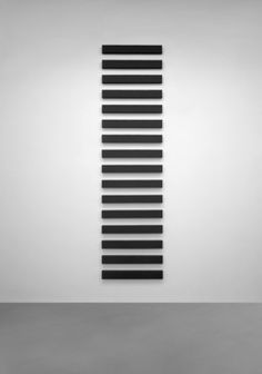 Alan Charlton, '16 Horizontal parts,' 1999, A arte Invernizzi