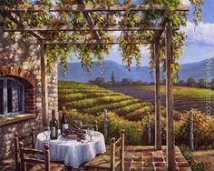 Vineyard Terrace by Sung Kim