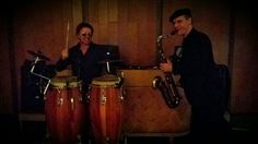 Above & Beyond Entertainment ready to rock another wedding at the stunning Sergeants' Mess on Sydney Harbour. DJ + Sax + Bongos - always a crowd pleaser!