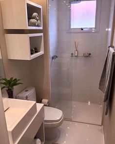 Home Renovation Bathroom Small Apartment Therapy 28 Ideas Very Small Bathroom, Small Bathroom Storage, Bathroom Design Small, White Bathroom, Small Storage, Bathroom Designs, Master Bathroom, Bronze Bathroom, Simple Bathroom