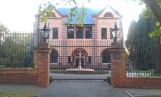 Image result for johannesburg upper houghton cullinan mansion Cabin, Mansions, House Styles, Image, Home, Villas, Manor Houses, Cabins, Villa