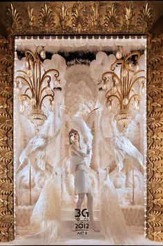 The Bergdorf Goodman Holiday Windows Are Up,They're Beautiful