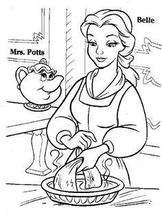 Belle Coloring Pages   Disney Princesses Belle Coloring Pages. X pages, princess…