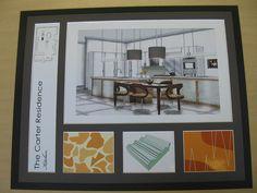 Angela Adams Presentation Board Kitchen by el.nygaard, via Flickr
