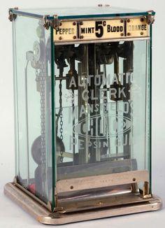 Clark gum machine