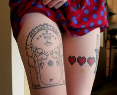 Gates of Moria and Link?! Best legs ever.