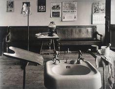 Wright Morris, Barber Shop Interior; Cahow's Barber Shop, Chapman, Nebraska, 1942