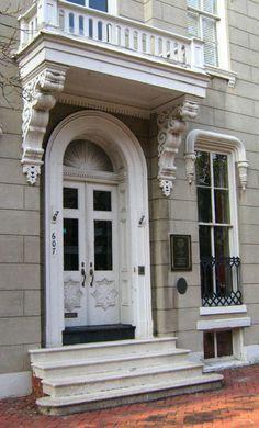 Daily Photo . Taken in June 2006. This doorway is in Alexandria VA