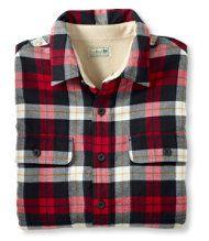 L.L. Bean flannel shirt