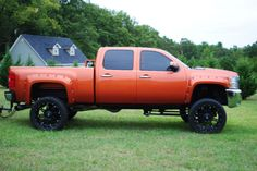 Bronze Orange Chevy..this will be my truck after high school no doubt. It will be orange be the only orange around.