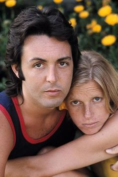 Paul & Linda McCartney,1971