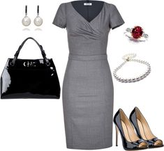 """Power Dress"" by romigr99 ❤ liked on Polyvore"