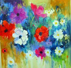 soraya french paintings | Ken Bromley Art Supplies - Dynamic Acrylics with Soraya French DVD