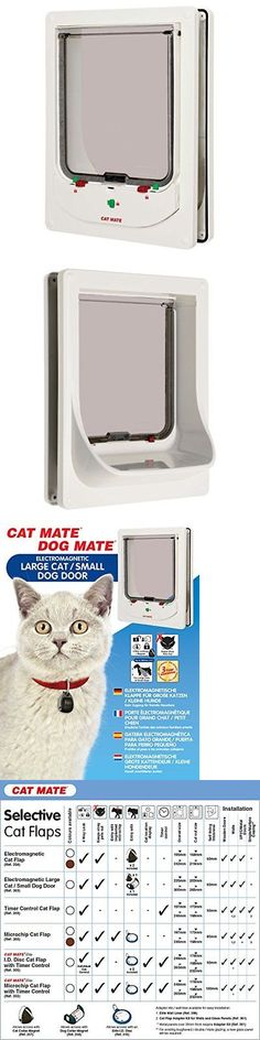 Doors And Flaps 117421 Cat Mate Electromagnetic Large Cat Or Small