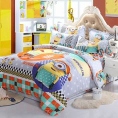 12 Cute Minion Bedding Sets