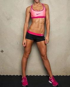 If I'm build muscular, at least can strive for this: all toned, no fattiness