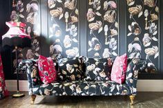 Wallpaper in panels by House of Hackney
