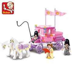 $7.99 (Buy here: https://alitems.com/g/1e8d114494ebda23ff8b16525dc3e8/?i=5&ulp=https%3A%2F%2Fwww.aliexpress.com%2Fitem%2FSluban-Building-Friends-Series-Blocks-for-Girls-Toy-Royal-Princess-Carriage-Wagon-Compatible-with-Lego%2F32626209526.html ) Sluban Building Friends Series Blocks for Girls Toy Royal Princess Carriage Wagon for just $7.99