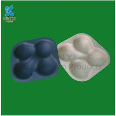Molded pulp disposable fruits packaging paper trays
