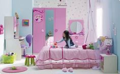 I great room for a little girl, mine would love it.