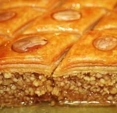 No not Baklava, we say Baklawa/Lebanese Algerian Recipes, Lebanese Recipes, Cookie Desserts, Dessert Recipes, Tunisian Food, Middle East Food, Ramadan Recipes, Arabic Food, International Recipes