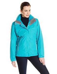 White Sierra Womens Three Season Jacket Medium Jewel Green ** Check out this great product.(This is an Amazon affiliate link and I receive a commission for the sales)
