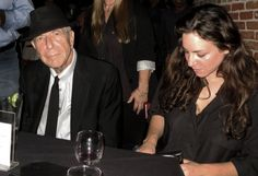 Watching Sharon Robinson's Show Over Leonard Cohen's Shoulder - 2013 - Cohencentric: Leonard Cohen Considered