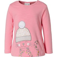 SALT AND PEPPER Baby-M/ädchen Lovely Katze Pailletten Sweatshirt