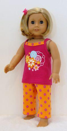 American Girl Doll Clothes 18 inch Doll by TwirlyGirlDollDesign, 14.99