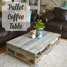 s 15 pallet coffee tables that look way too good to be diy, painted furniture, pallet, Use four pallets for storage friendly style Home Projects, Pallet, Diy Furniture, Classy Living Room Furniture, Diy Coffee Table, Pallet Coffee Table, Table, Coffee Table Farmhouse, Coffee Table
