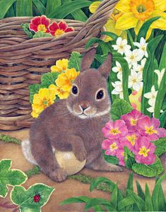 Hiding the Eggs by Anne Mortimer