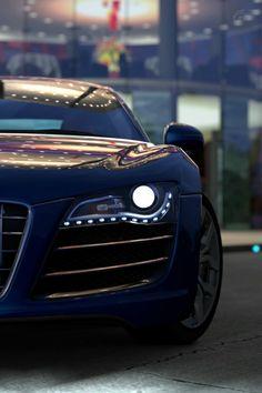 Love the Audi lights