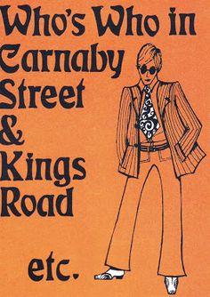 60's Carnaby Street Guide via http://dandyinaspic.blogspot.com/