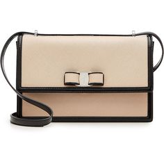 Salvatore Ferragamo Leather Medium Ginny Shoulder Bag (€755) ❤ liked on Polyvore featuring bags, handbags, shoulder bags, magenta, leather purses, beige leather handbag, clear handbags, salvatore ferragamo shoulder bag and beige leather purse